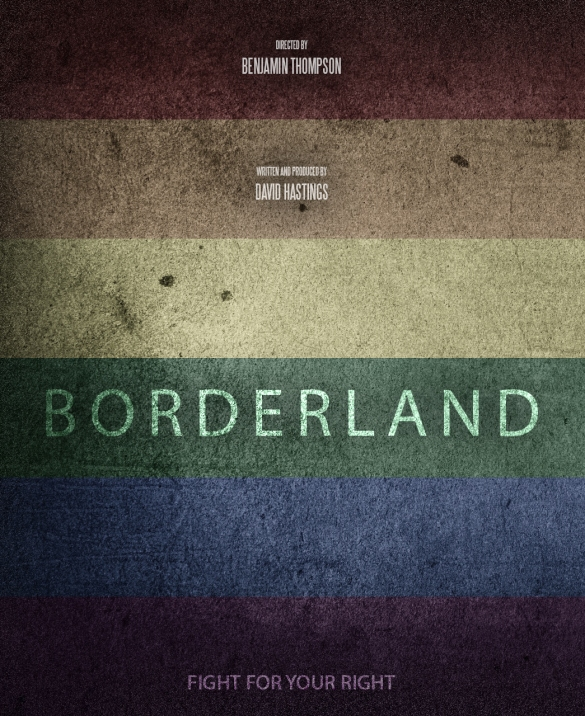Borderland portrait poster